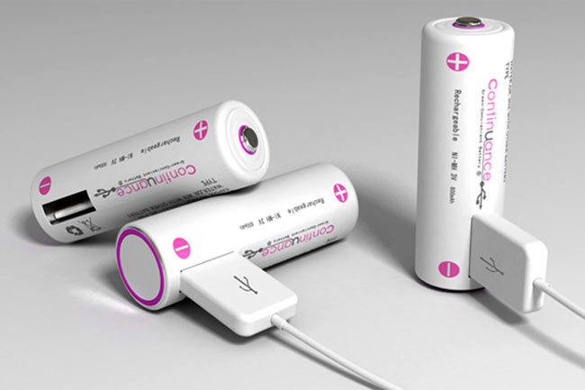 Continuance Rechargeable USB Batteries - Latest USB Gadget | Techkitt