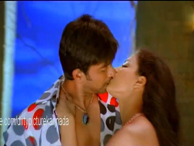 Veena Malik's tremendous kiss in Dirty Picture | Bollygupshup…. - cutmirchi.com