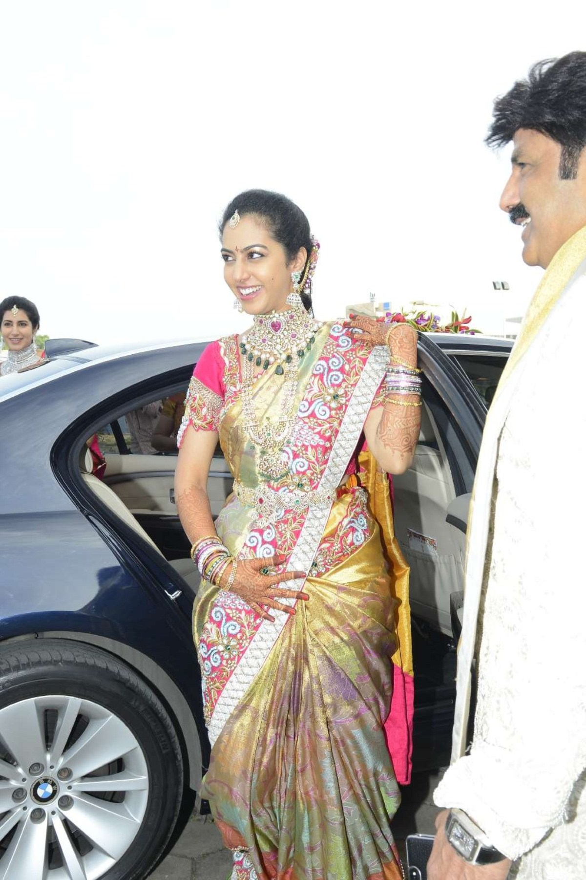 Balakrishna Daughter Tejaswini Wedding Stills