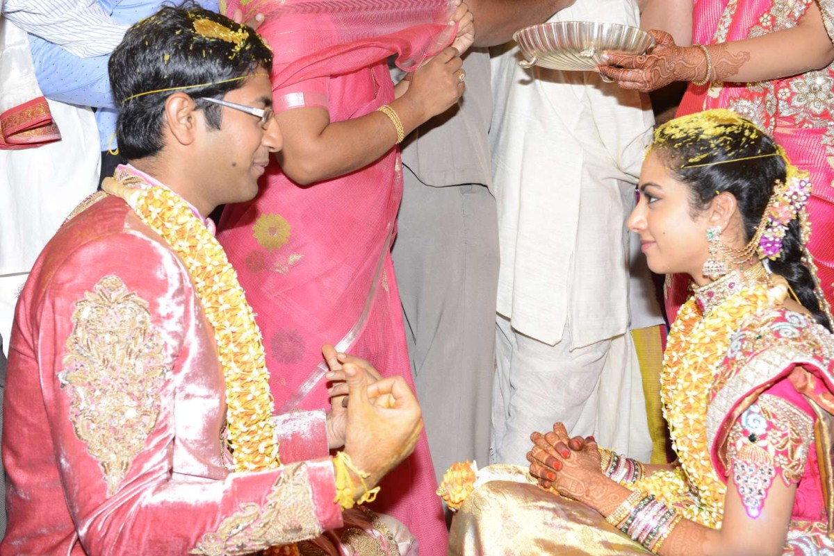 Actor Balakrishna Daughter Tejaswini Wedding Photos