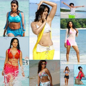 Kollywood Actresses Hot Beach Pictures