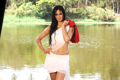 Tv Serial Actress Shweta Tiwari Hot Wet Navel Photos