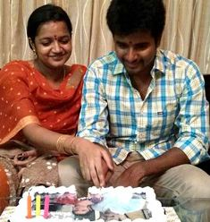 Siva karthikeyan becomes a proud father