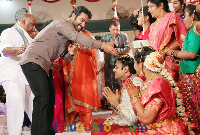 BVSN Prasad Daughter Wedding Photos